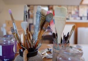 Jenny's studio.