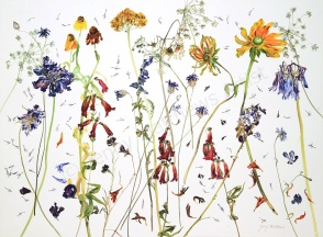 Still Looking Good: 75x 55cm, watercolour on paper, framed price £1,850