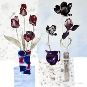 Black Tulip print