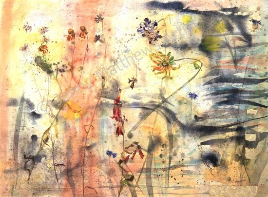 Threadbare, 55 x 75cm, watercolour on paper, framed price £1,850